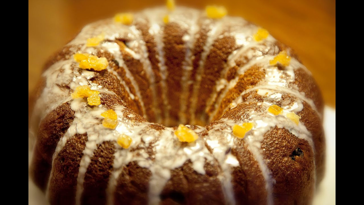 Polish Christmas Bread  Easter Bundt Cake Babka Wielkanocna Ania s Polish Food