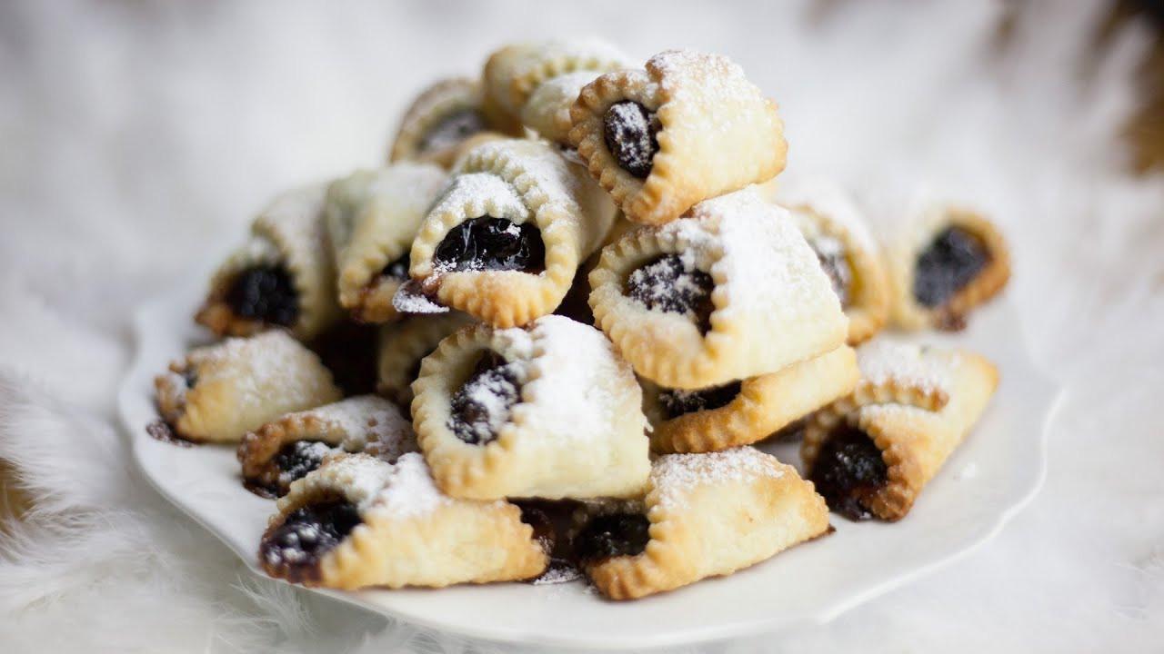 Polish Christmas Cookies  Polish Christmas Cookies Kolaczki Swiateczne Recipe