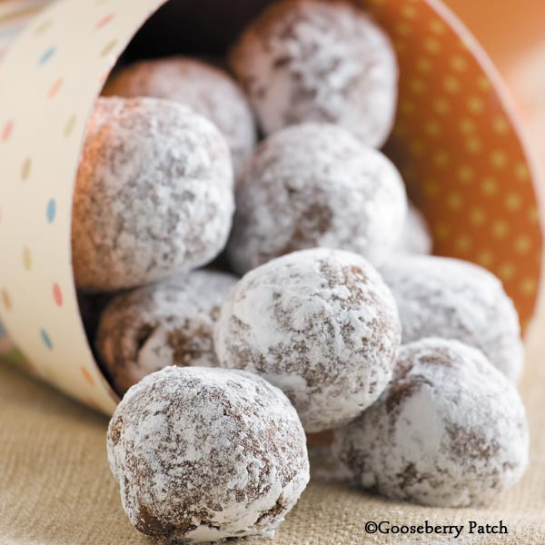 Polish Christmas Cookies  Gooseberry Patch Recipes Polish Cookie Balls from