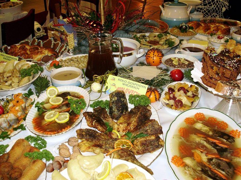 Polish Christmas Dinner  Wigilia Narodzenia Pańskiego Polska