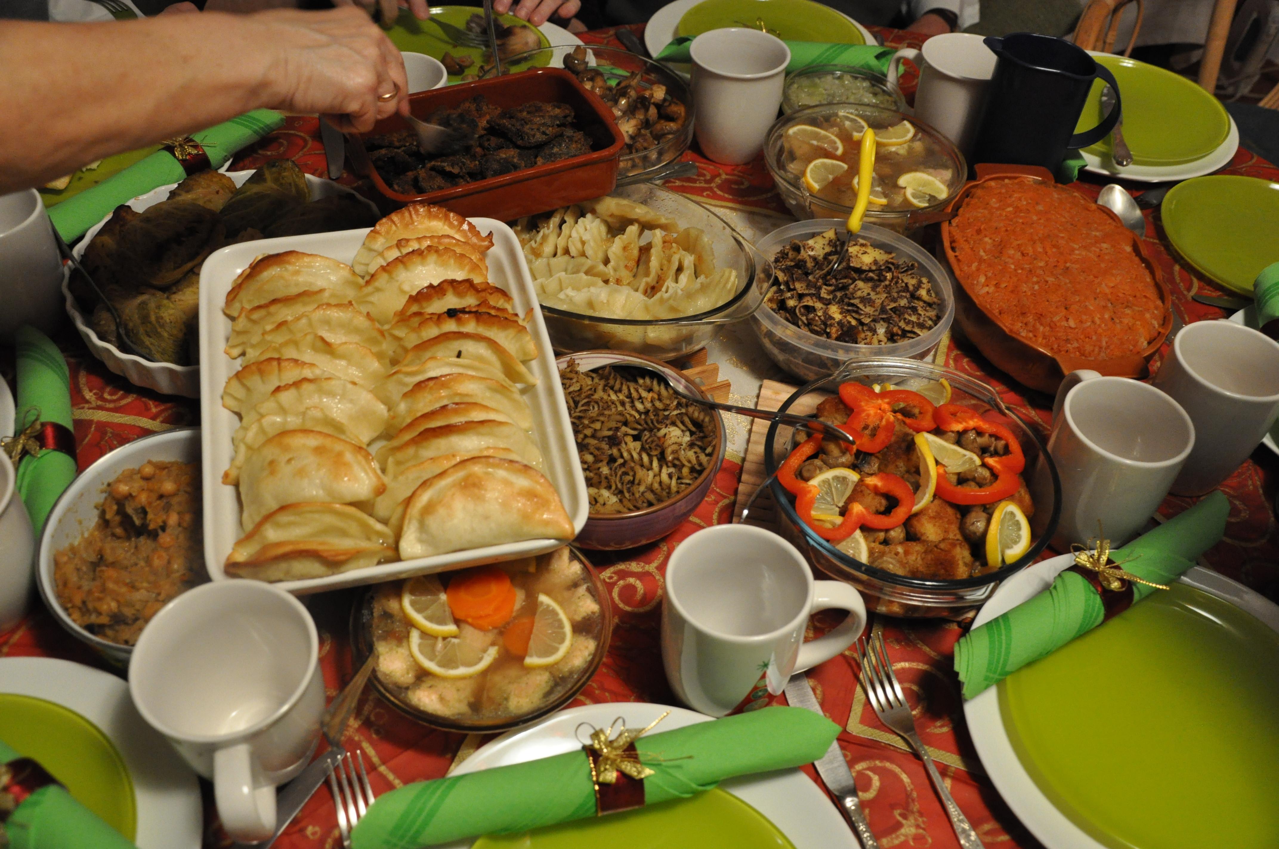 Polish Christmas Dinner  Christmas in Poland