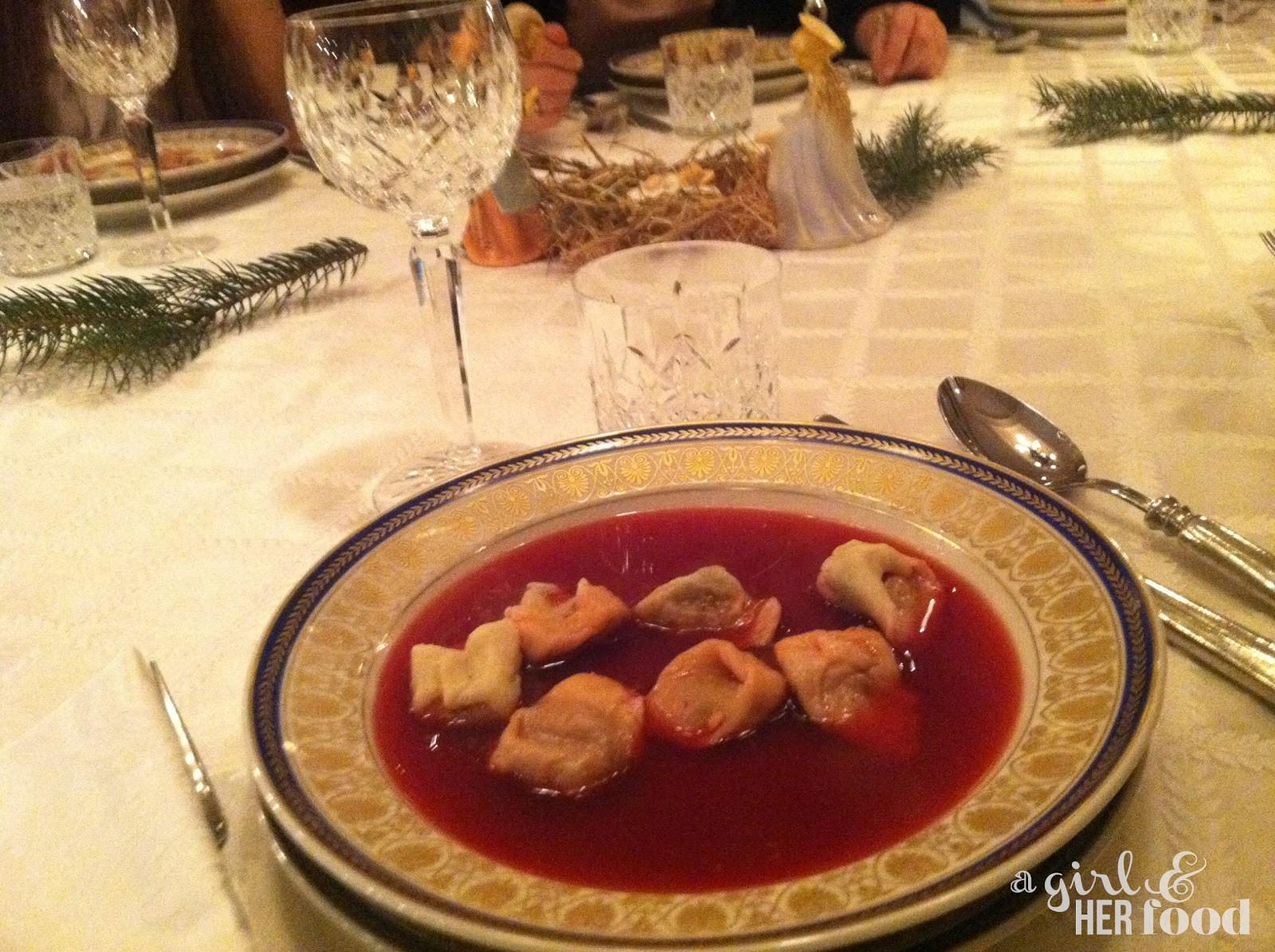 Polish Christmas Dinner  A Girl & Her Food Polish Christmas Eve Dinner