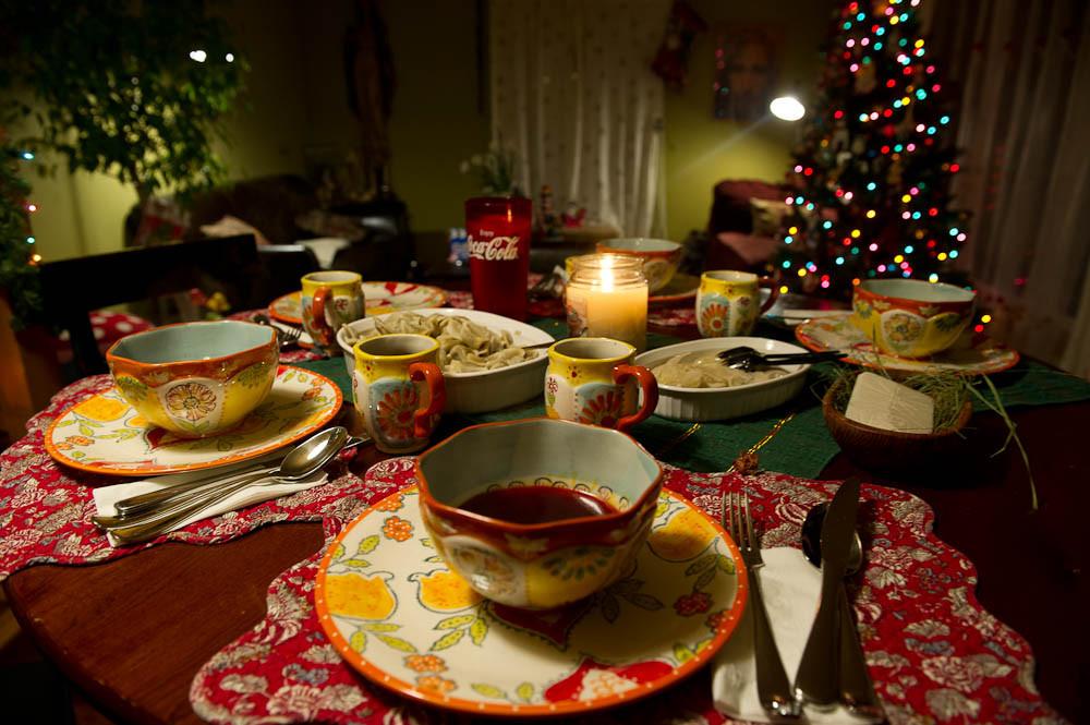 Polish Christmas Dinner  Polish Christmas Eve It Must Be Midnight