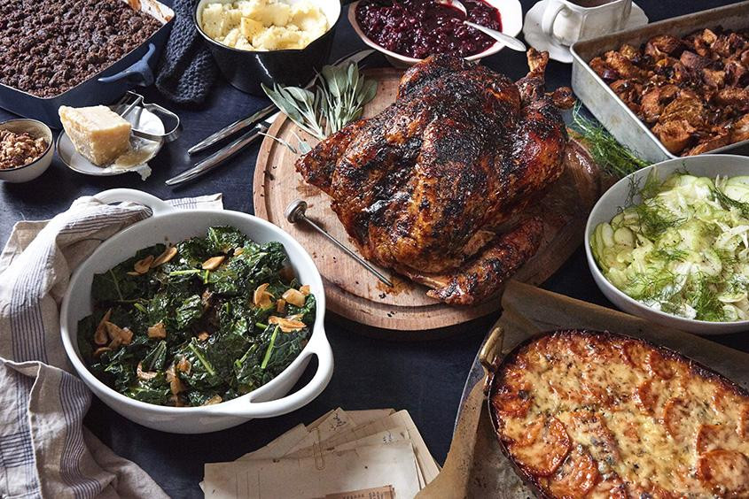 Popeyes Fried Turkey Thanksgiving 2019  How to cook an entire Thanksgiving meal in one day