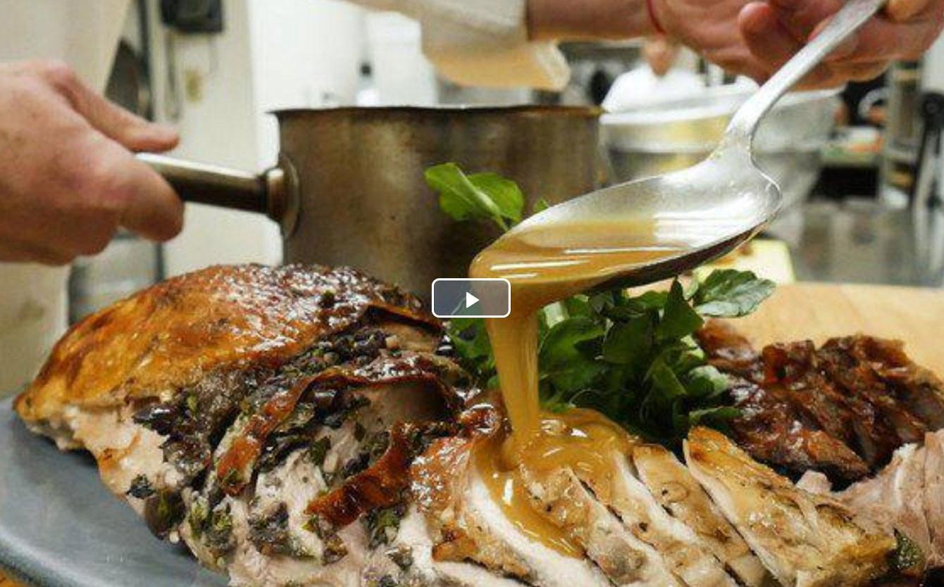 Popeyes Fried Turkey Thanksgiving 2019  Press BLACKBARN NYC