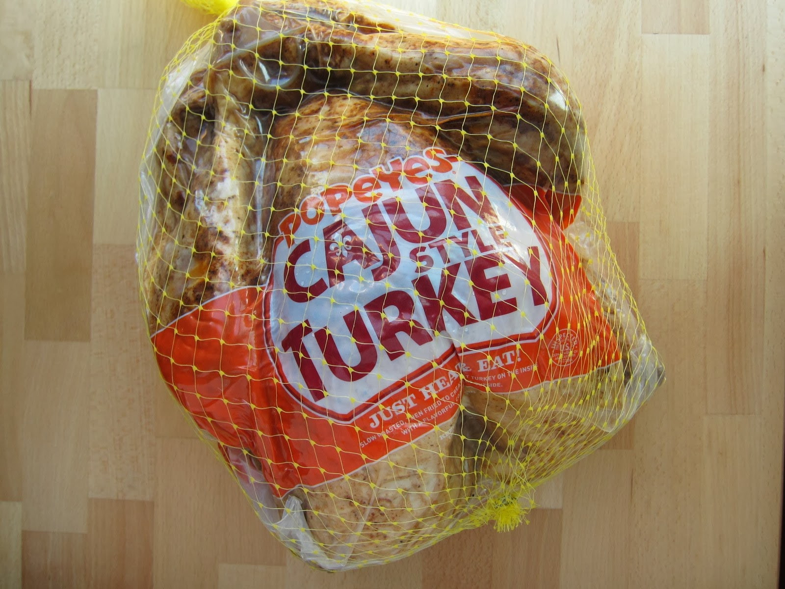 Popeyes Thanksgiving Turkey  Brand Eating November 2013