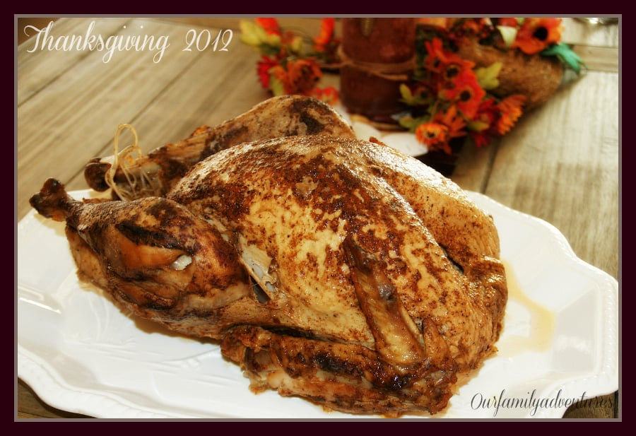 Popeyes Thanksgiving Turkey  2012 Thanksgiving turkey from Popeye s $39 99 turkey