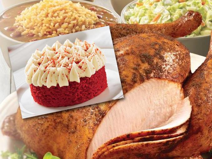 Popeyes Thanksgiving Turkey  Popeyes Cajun Turkeys And New Red Velvet Cake Now