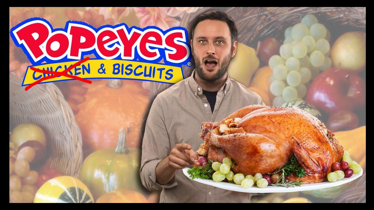 Popeyes Thanksgiving Turkey  Thanksgiving at Popeyes Food Feeder