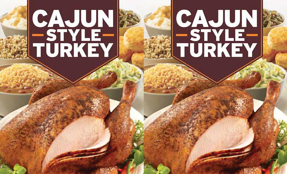 Popeyes Thanksgiving Turkey  Popeyes Cajun Style Turkey Will Make It So Much Easier To