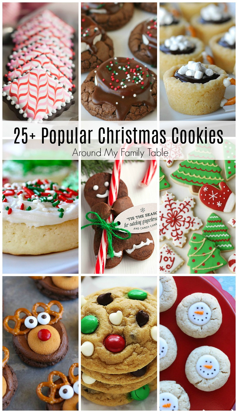 Popular Christmas Cookies Recipes  Most Popular Christmas Cookie Recipes Around My Family Table