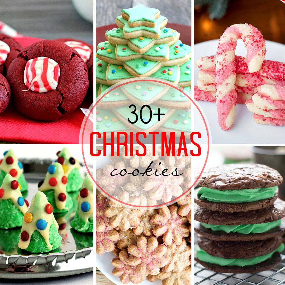 Popular Christmas Cookies Recipes  30 Plus Festive Christmas Cookie Recipes — Let s Dish Recipes