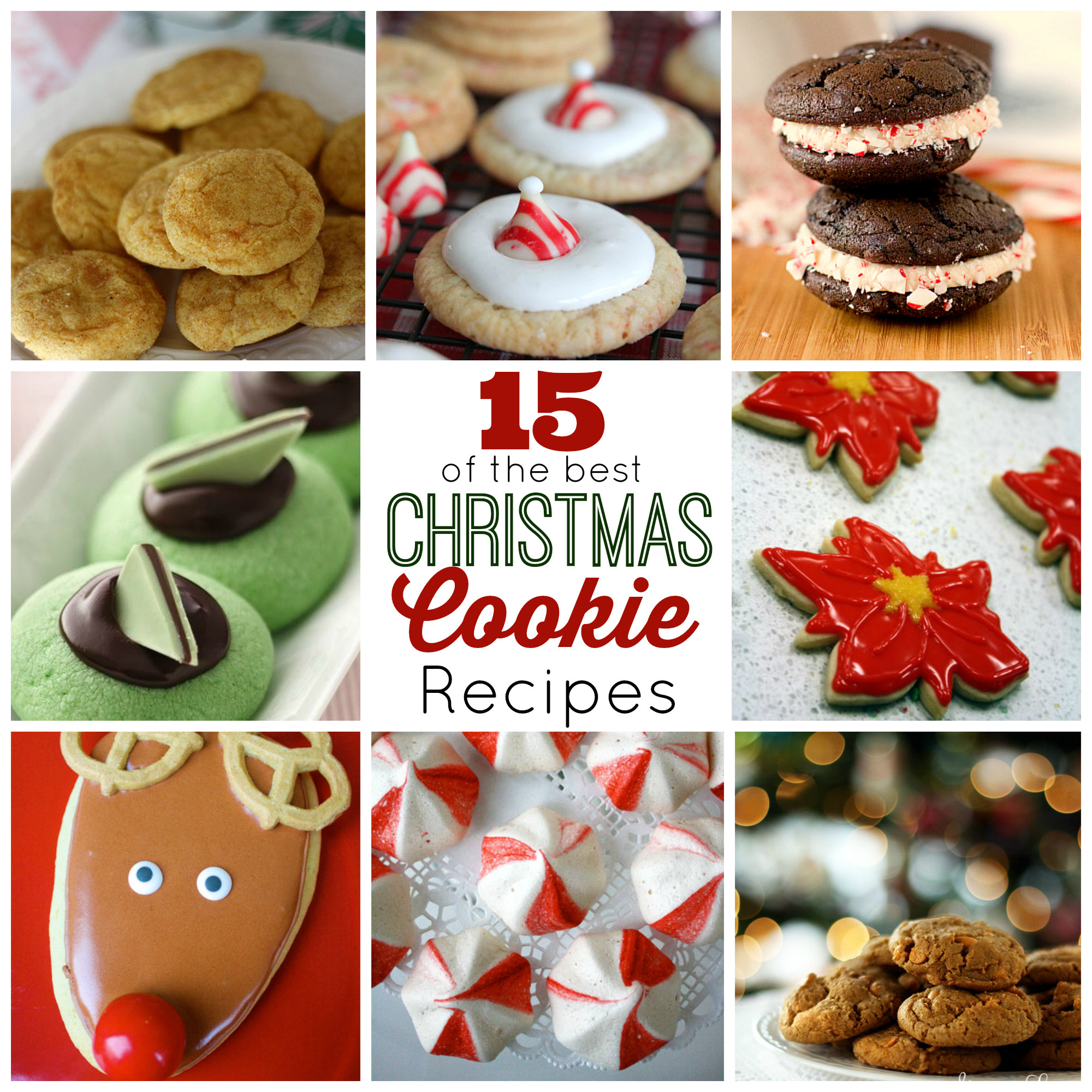 Popular Christmas Cookies Recipes  15 of the Best Christmas Cookies