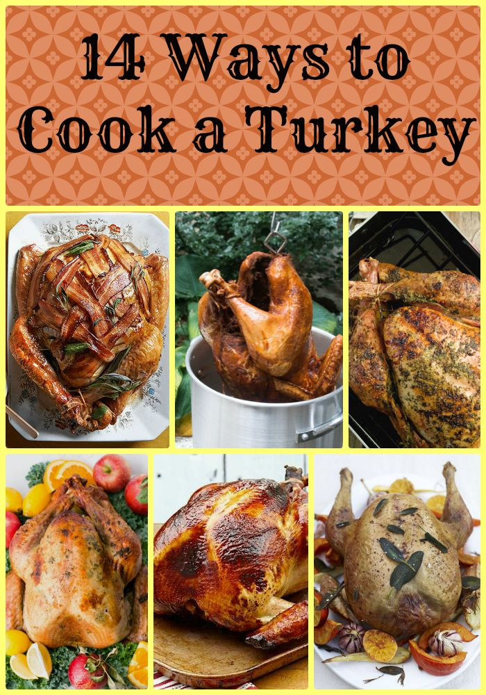 Pre Cook Turkey For Thanksgiving  14 Different Ways to Cook a Turkey TGIF This Grandma