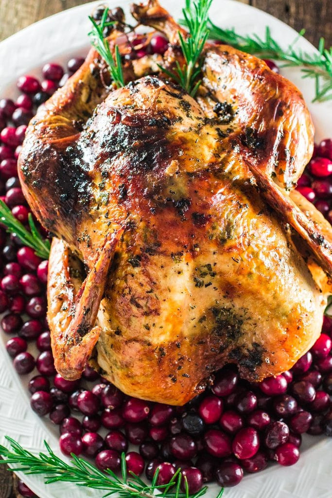 Pre Cook Turkey For Thanksgiving  Roasted Turkey with Herb Butter Olivia s Cuisine
