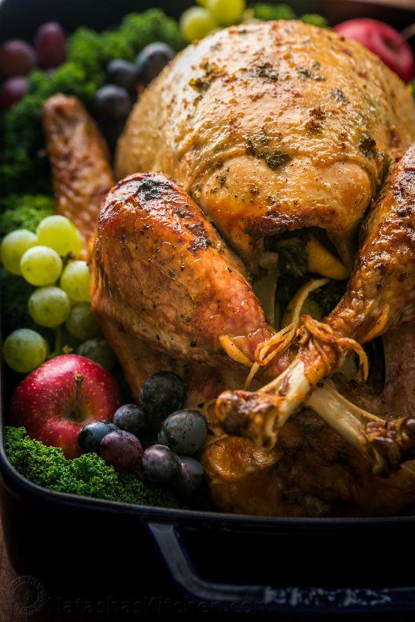 Pre Cooked Thanksgiving Turkey  Thanksgiving Turkey Recipe VIDEO NatashasKitchen