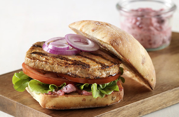 Pre Cooked Thanksgiving Turkey  Fully Cooked Turkey Burger