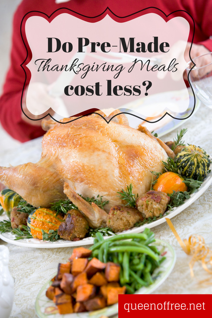 Pre Made Thanksgiving Dinner  Could Thanksgiving Meals to Go Be Cheaper