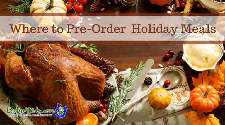Pre Made Thanksgiving Dinner  Thanksgiving Dinner To Go Where to Order Your Holiday Meal