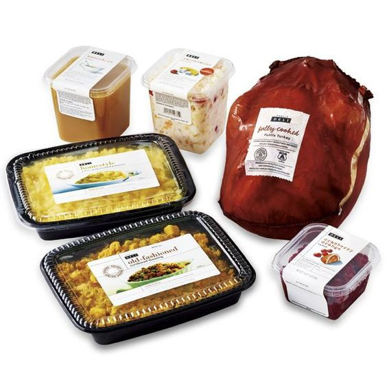 Precooked Thanksgiving Dinner  Pinterest • The world's catalog of ideas