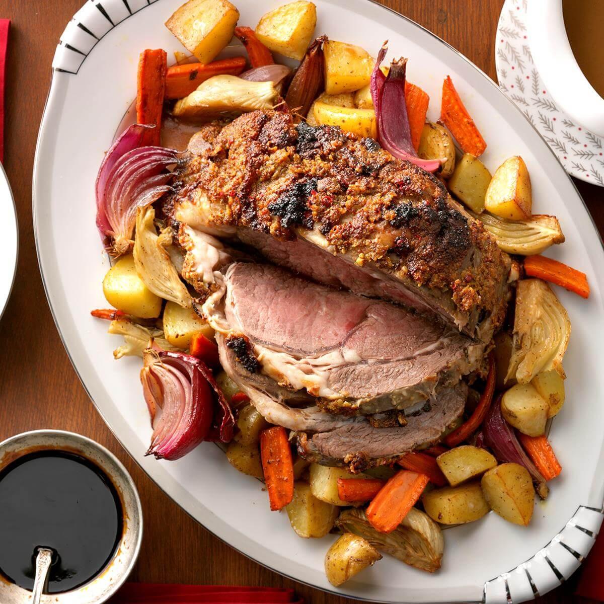 Prime Rib Christmas Dinner Menus  50 Recipes for an Easy Christmas Dinner Menu