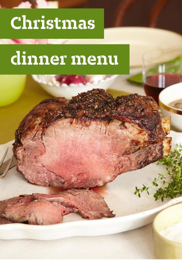 Prime Rib Christmas Dinner Menus  Christmas Dinner Menu — Is Christmas dinner at your house