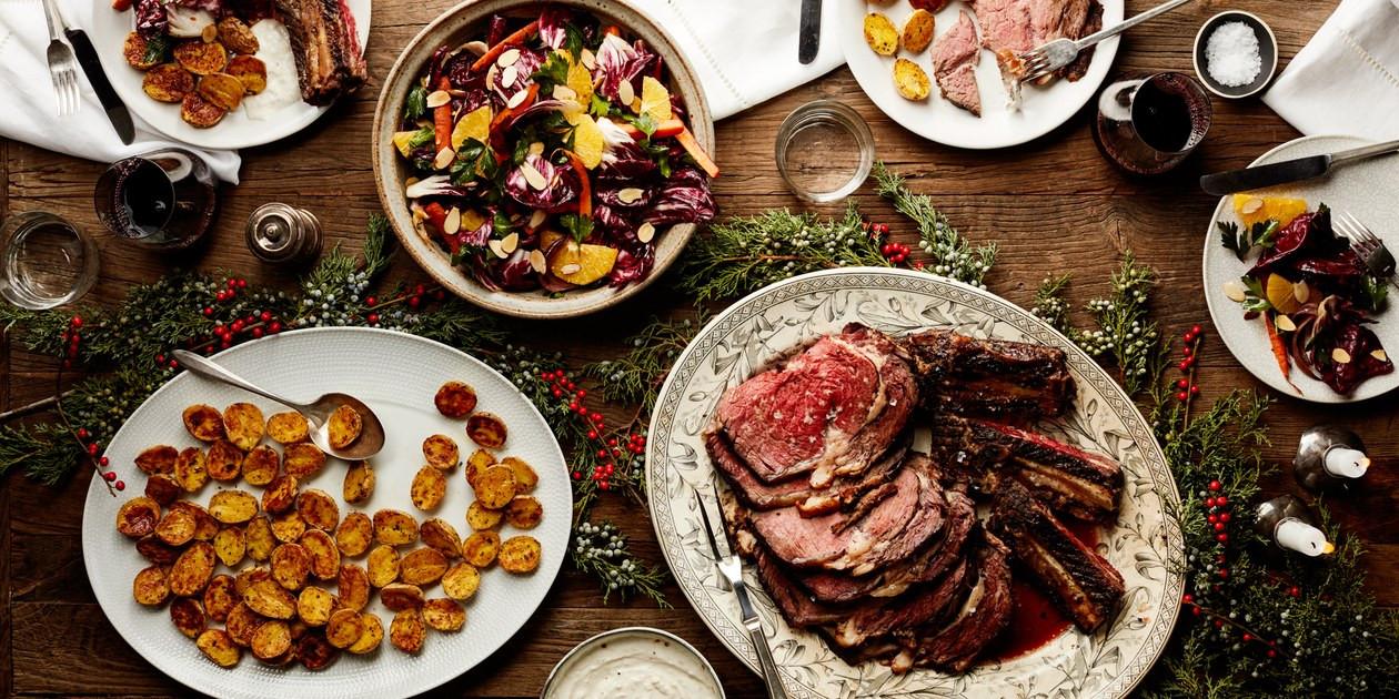 Prime Rib Christmas Dinner Menus  Easy Christmas Dinner Menu With Beef Rib Roast