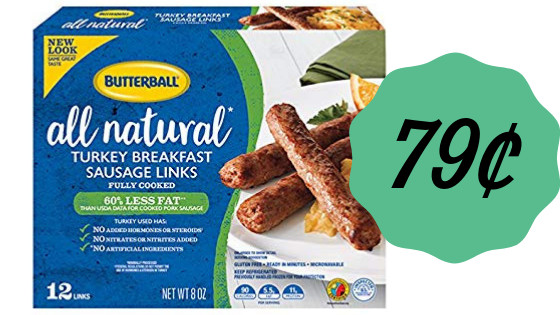 Publix Thanksgiving Dinner 2019  Butterball Turkey Sausage 79¢ at Publix Southern Savers
