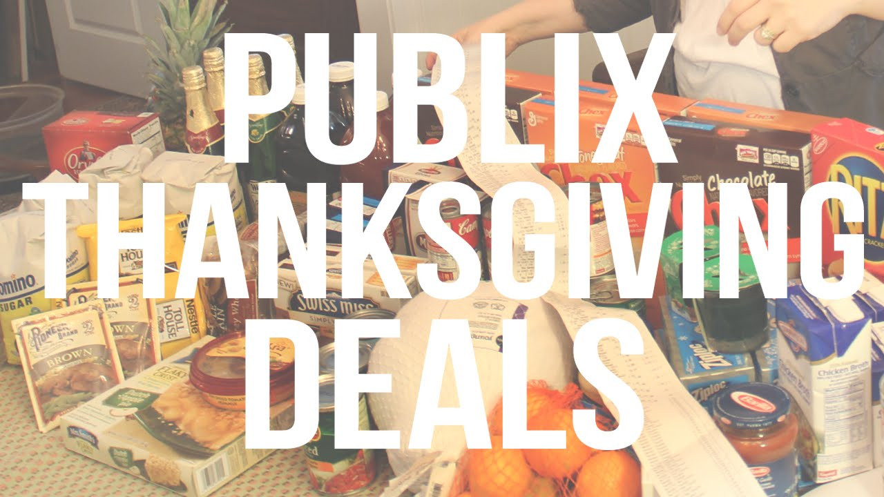 Publix Thanksgiving Dinner  How To Save Thanksgiving Dinner At Publix
