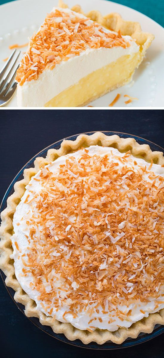 Quick And Easy Thanksgiving Recipes  Coconut Cream Pie