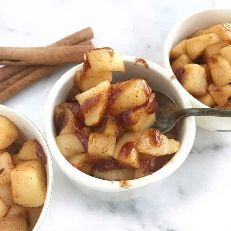 Quick Fall Desserts  Healthy Dessert Ideas 10 Minute Baked Apples