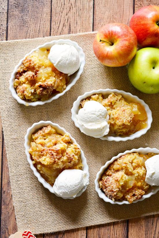 Quick Fall Desserts  Quick & Easy Apple Cobbler Recipe