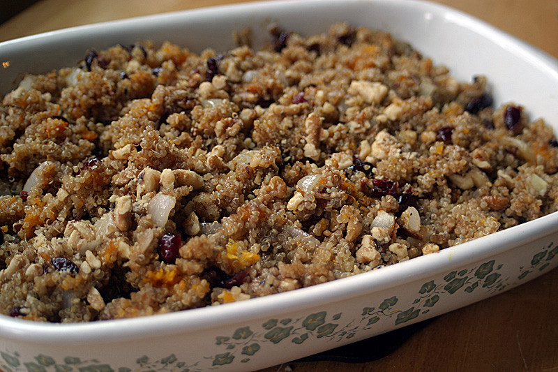 Quinoa Stuffing Thanksgiving  Butternut Squash Quinoa Stuffing Vegan Gluten Free