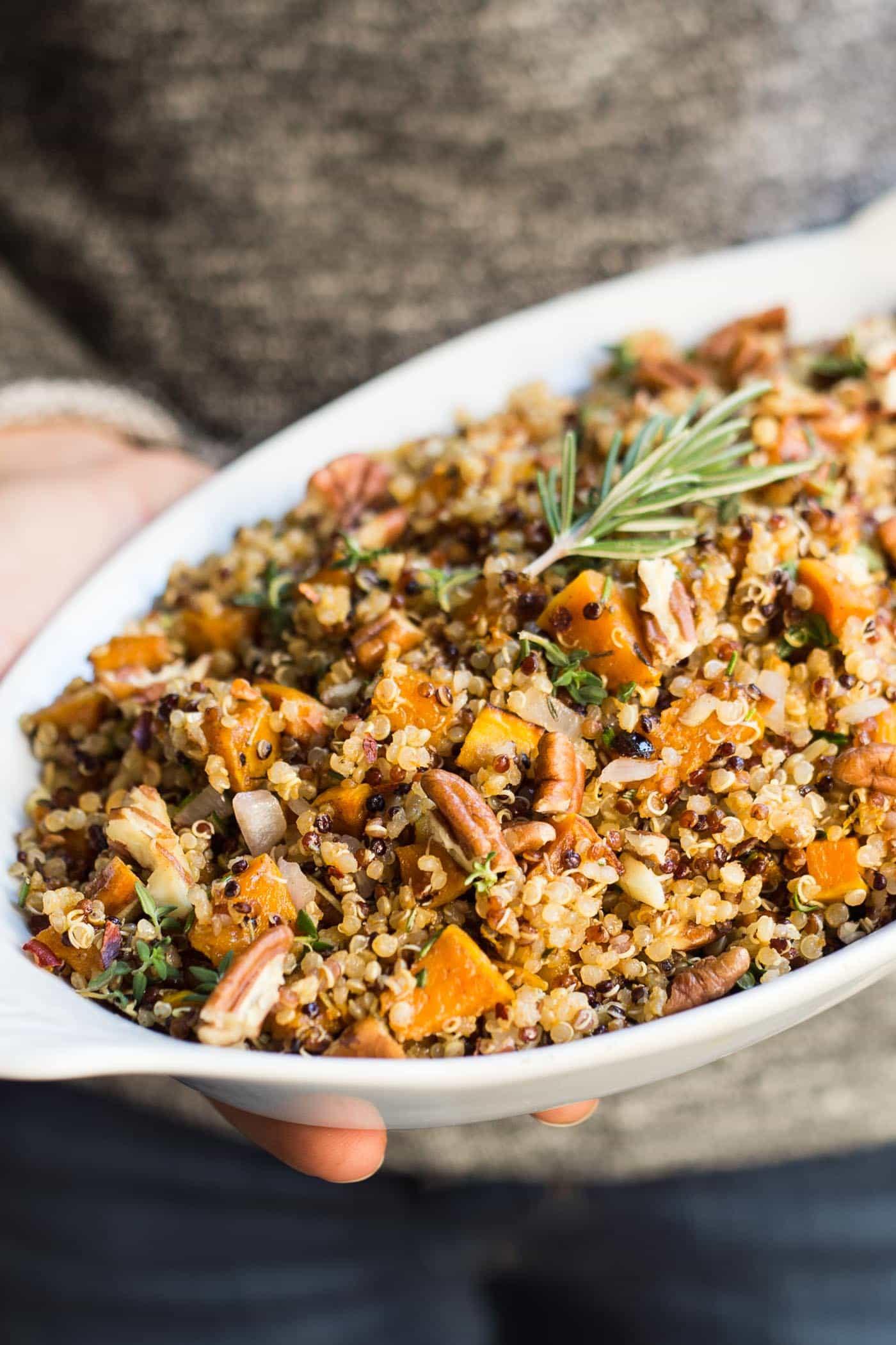 Quinoa Stuffing Thanksgiving  Easy Quinoa Stuffing Recipe Simply Quinoa