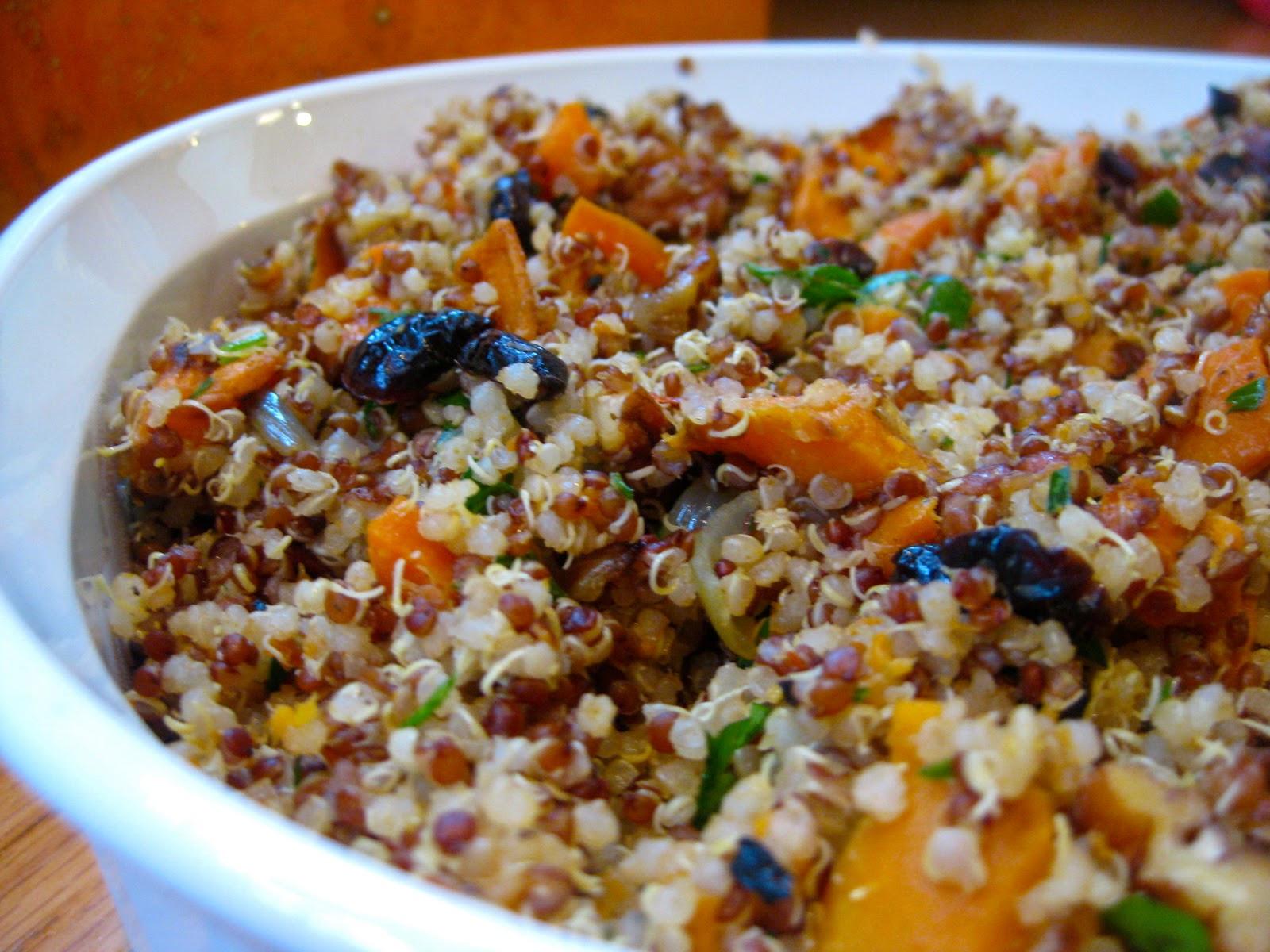 Quinoa Stuffing Thanksgiving  Quinoa Stuffing Recipe Gluten Free & Vegan