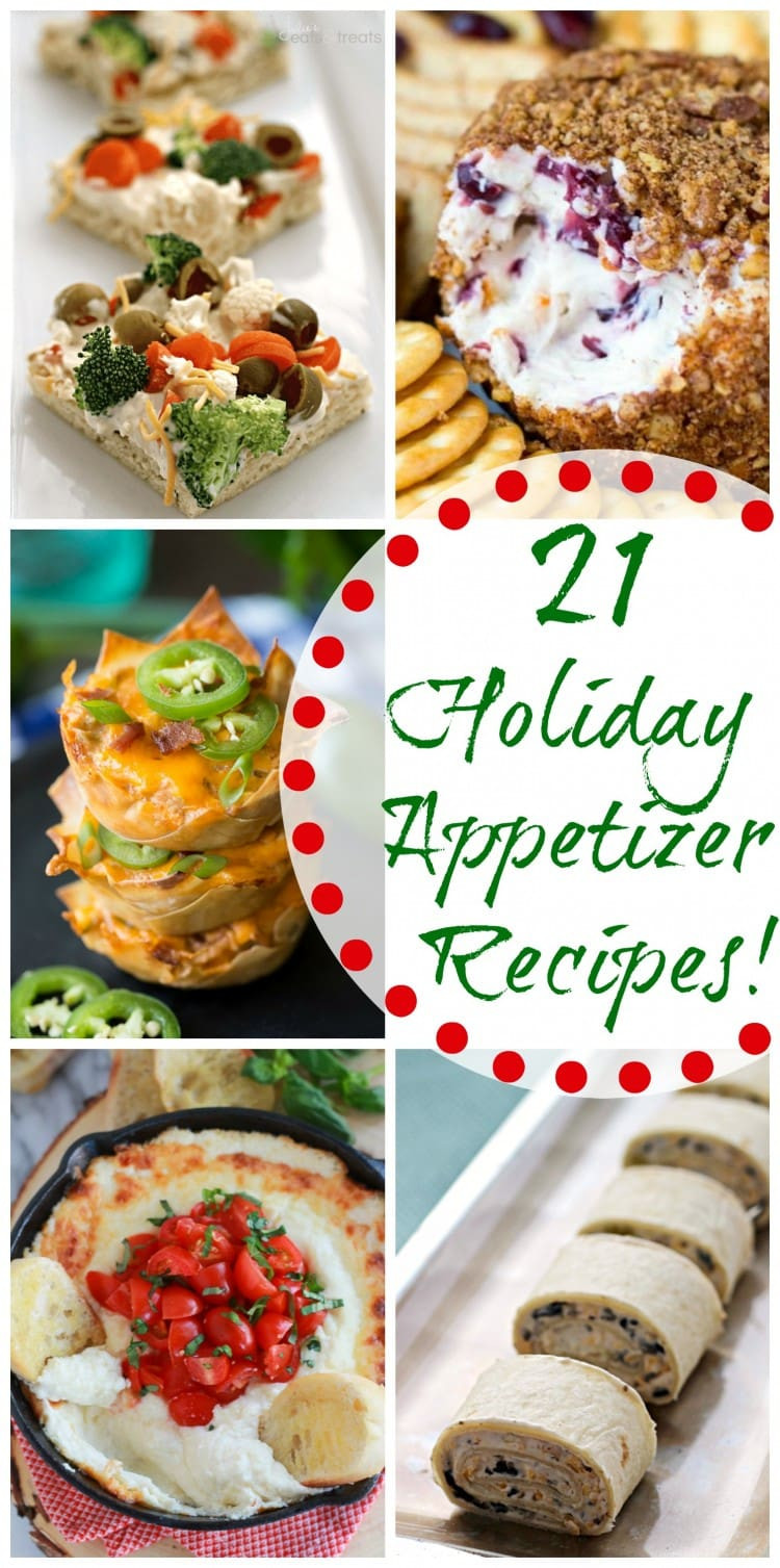 Recipe For Christmas Appetizers  21 Holiday Appetizer Recipes Diary of A Recipe Collector