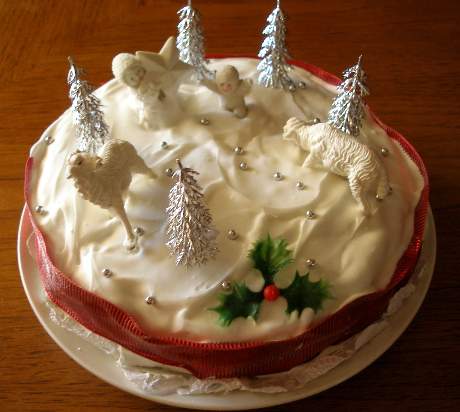 Recipe For Christmas Cakes  The Knitting Blog by Mr Puffy the Dog A Traditional