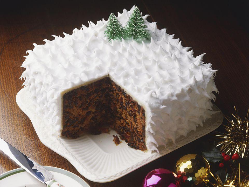 Recipes For Christmas Cakes  Traditional British Christmas Cake Recipe