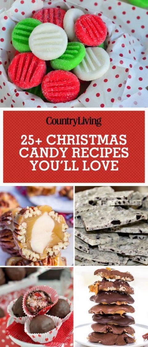 Recipes For Christmas Candy  45 Easy Christmas Candy Recipes Ideas for Homemade