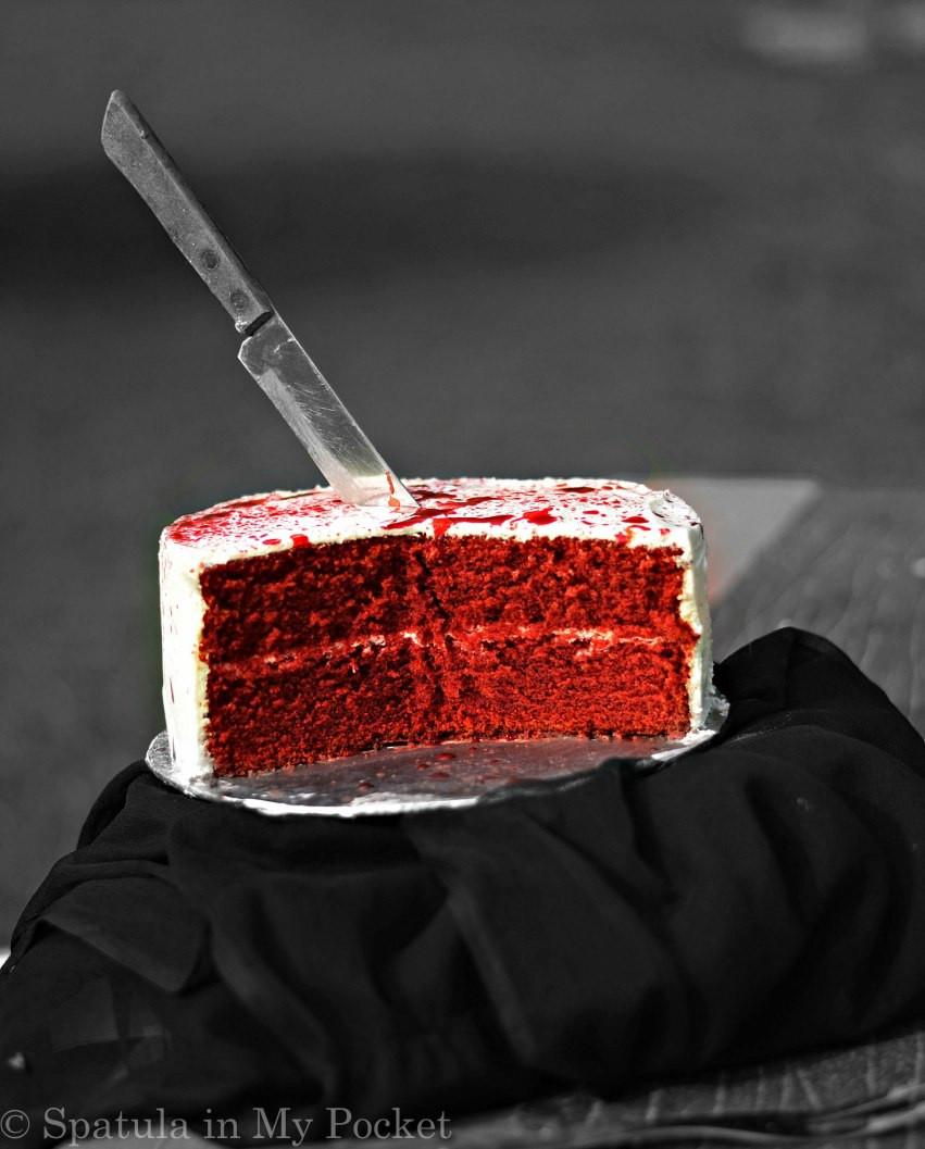 Red Velvet Halloween Cake  A Red Velvet Murder