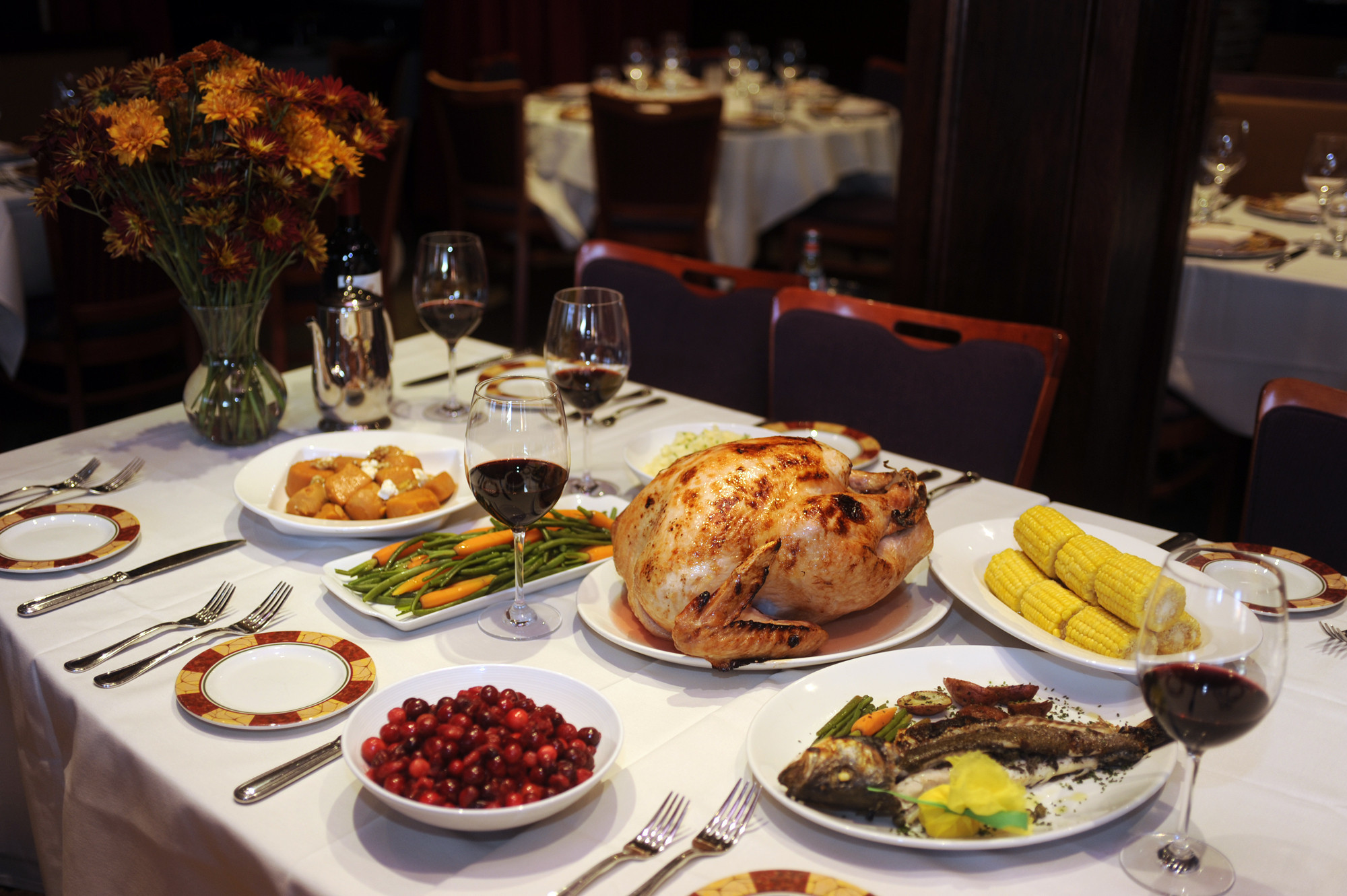 Restaurants That Have Thanksgiving Dinner  Where to dine on Thanksgiving Day in Baltimore Baltimore Sun