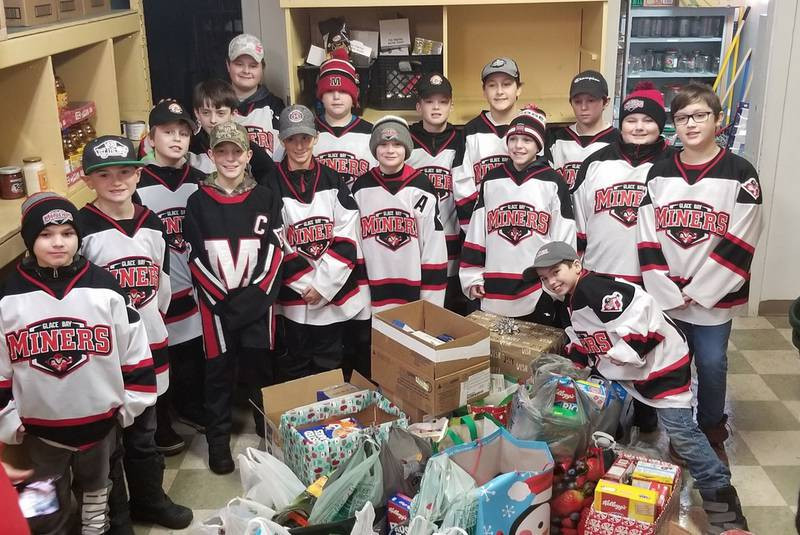 Riley Reid Christmas Cookies  Glace Bay hockey team surprises fire department with