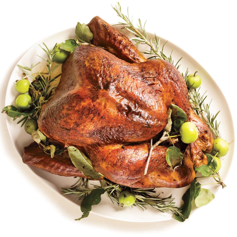 Roast Turkey Recipes Thanksgiving  Roasted Turkey & Rosemary Garlic Butter Rub & Pan Gravy