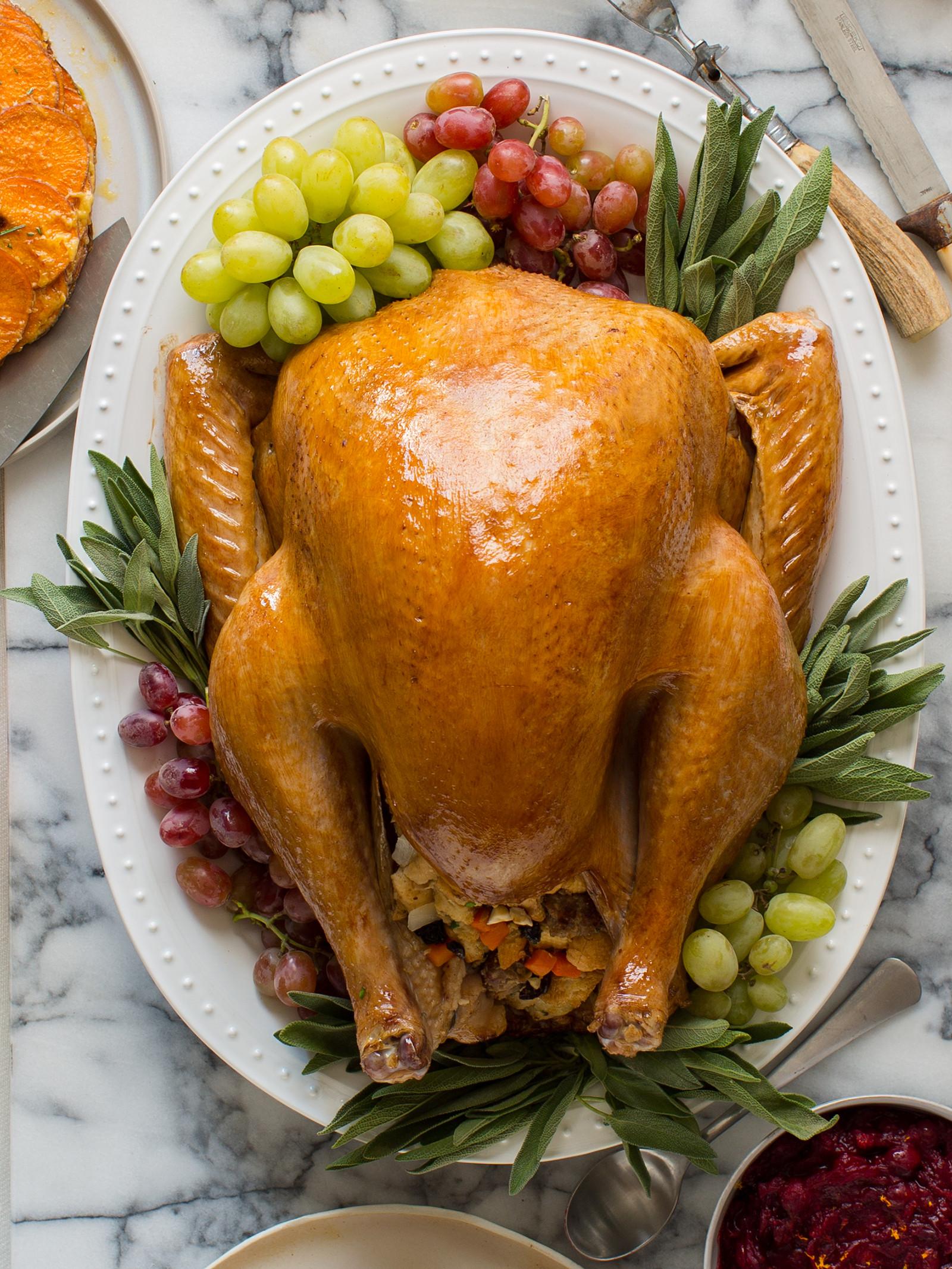 Roast Turkey Recipes Thanksgiving  Citrus and Herb Roasted Turkey Thanksgiving