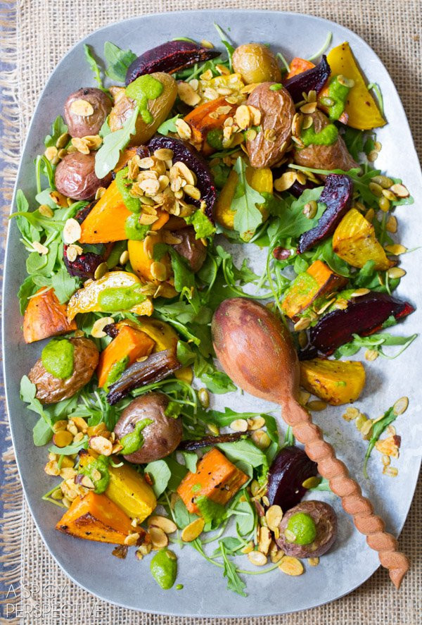 Roasted Fall Root Vegetables  70 Healthy Fall Recipes Paleo Gluten Free Dairy Free