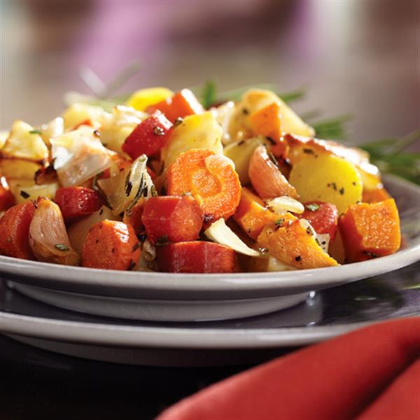 Roasted Fall Root Vegetables  Roasted Fall Root Ve ables