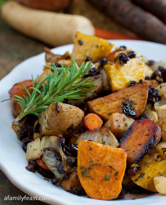 Roasted Fall Root Vegetables  Roasted Root Ve ables A Family Feast