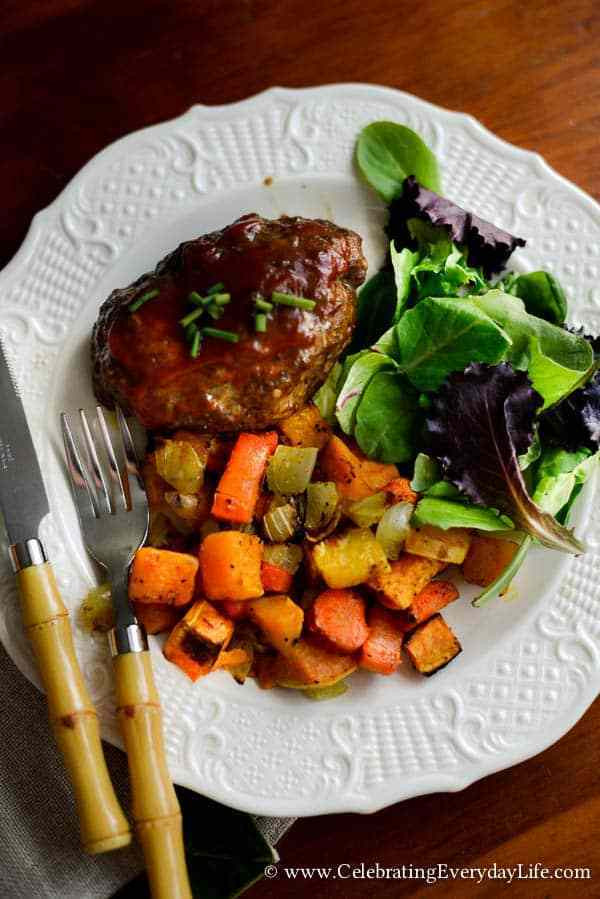 Roasted Fall Root Vegetables  Roasted Root Ve ables Fall Recipe