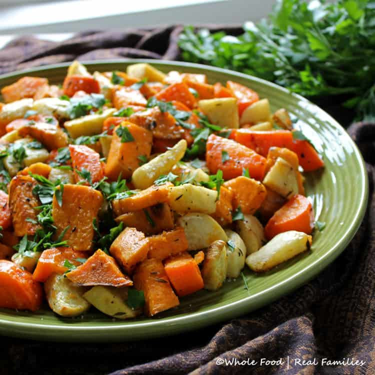 Roasted Fall Root Vegetables  Roasted Root Ve ables Whole Food