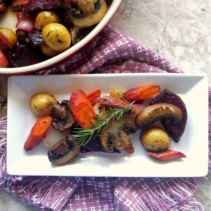 Roasted Fall Root Vegetables  Roasted Root Ve able Medley The Gardening Cook